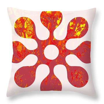 Fall Leaves #11 Throw Pillow