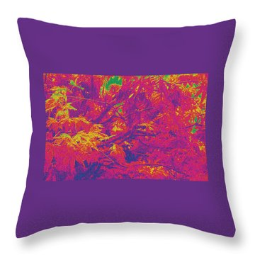 Fall Leaves #14 Throw Pillow