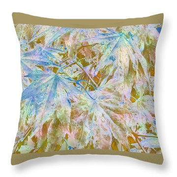 Fall Leaves #16 Throw Pillow