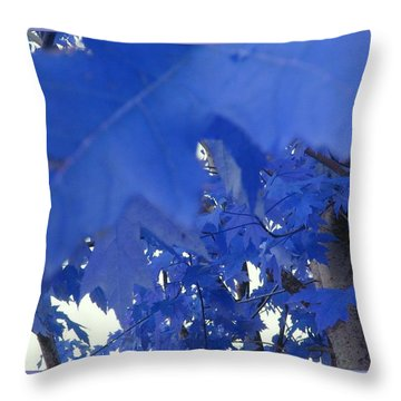 Fall Leaves #7 Throw Pillow