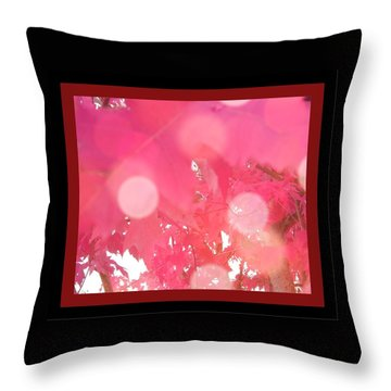 Fall Leaves #8 Throw Pillow