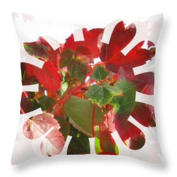 Fall Leaves #9 Throw Pillow