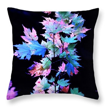 Fall Leaves1 Throw Pillow