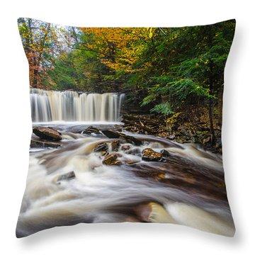 Fall Mixer Throw Pillow