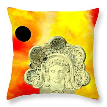 Fall Of Rome II Throw Pillow