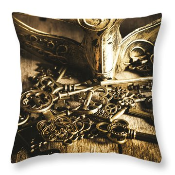 Fall Of The King Throw Pillow