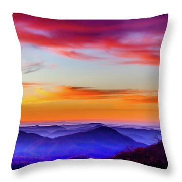 Fall On Your Knees Throw Pillow