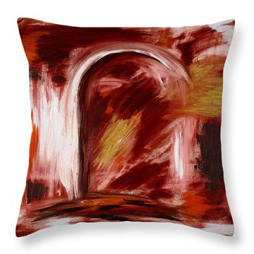 Fall Opening Throw Pillow
