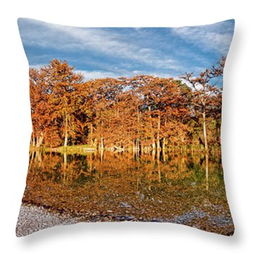 Lost River State Park Throw Pillows