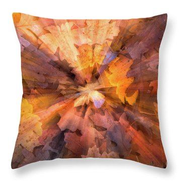 Fall Pizzaz Utah Adventure Landscape Photography By Kaylyn Franks Throw Pillow