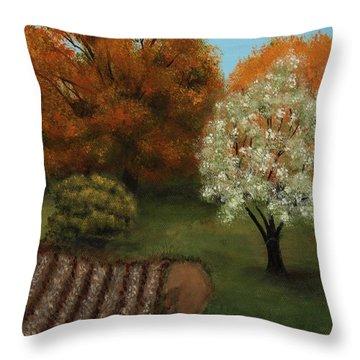 Fall Rendezvous Throw Pillow