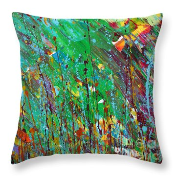Fall Revival Throw Pillow
