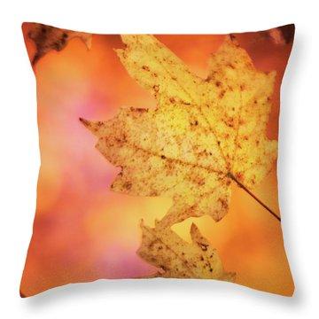 Fall Reveries Throw Pillow by Priya Saihgal