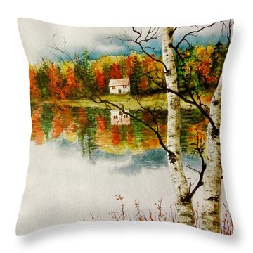 Fall Splendour Throw Pillow