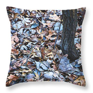 Fallen #1 Throw Pillow