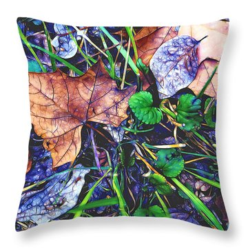 Fallen #3 Throw Pillow
