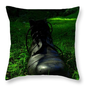 Fallen Soldier Throw Pillow