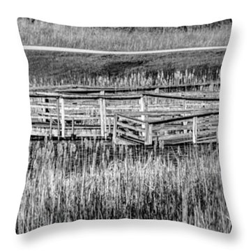 Falling But Standing Throw Pillow