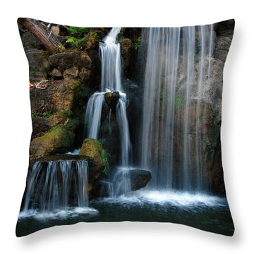 Falling For You Throw Pillow by Clayton Bruster