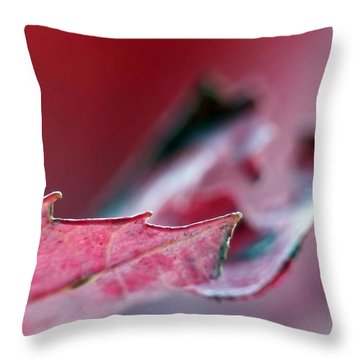 Falling I Throw Pillow