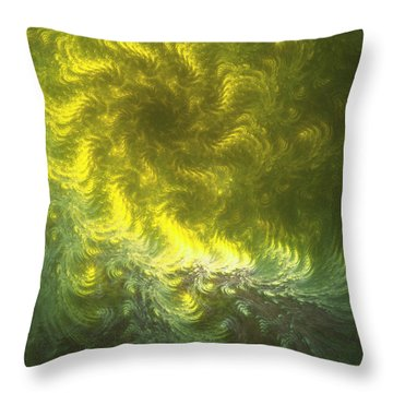 Falling Into Place Throw Pillow