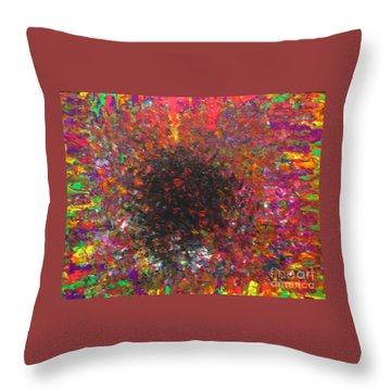 Falling Throw Pillow by Jacqueline Athmann