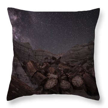 Falling Throw Pillow by Melany Sarafis
