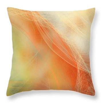 Falling Net Throw Pillow