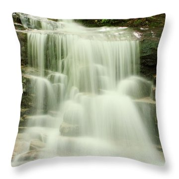 Falling Waters Throw Pillow