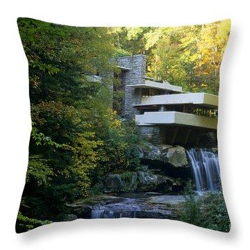 Fallingwater Throw Pillow