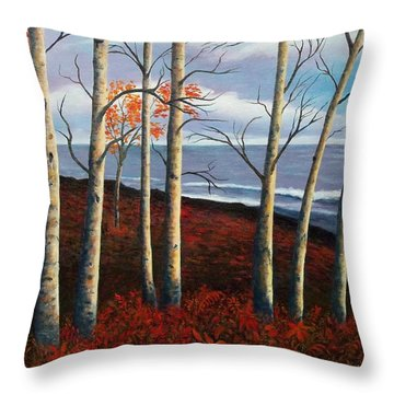 Fall's Charm Throw Pillow