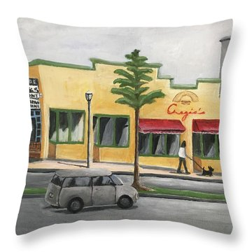 Falls Church Throw Pillow by Victoria Lakes