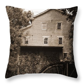 Fall's Mill Throw Pillow
