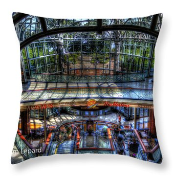 Falls View Throw Pillow