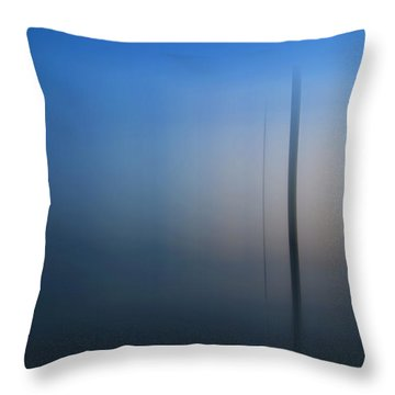 Throw Pillow featuring the photograph False Cape State Park One by Kevin Blackburn