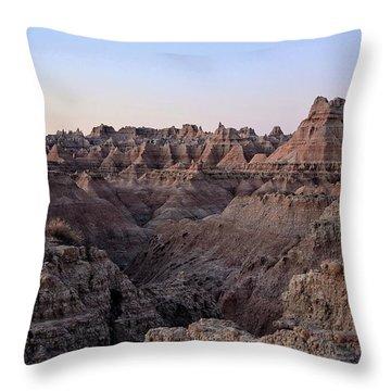 False Dawn Throw Pillow