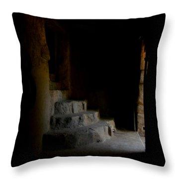 False Escape Throw Pillow