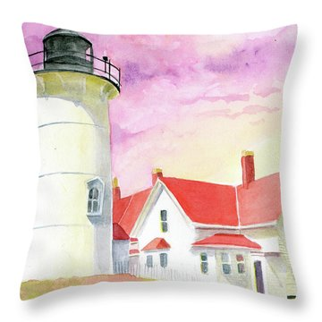 Familiar Light Throw Pillow