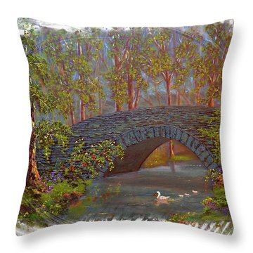 Family Hideaway  Throw Pillow