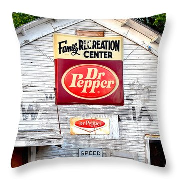 Family Recreation Throw Pillow