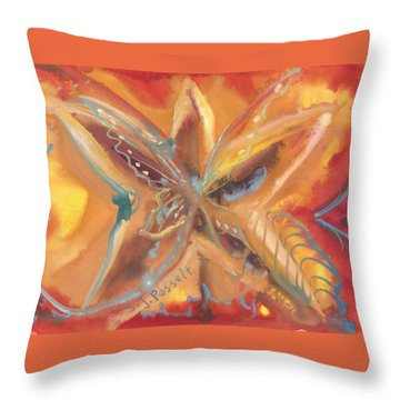 Family Star Throw Pillow