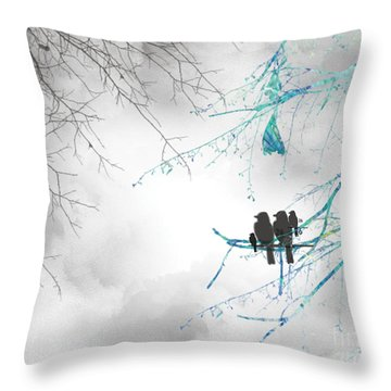 Family Togetherness Throw Pillow