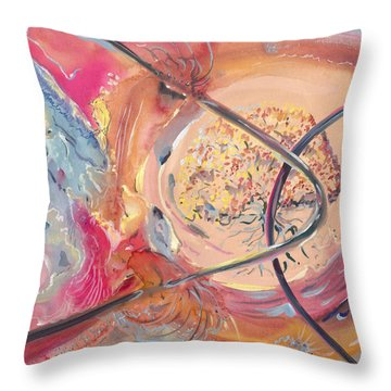 Family Tree Of Life Throw Pillow