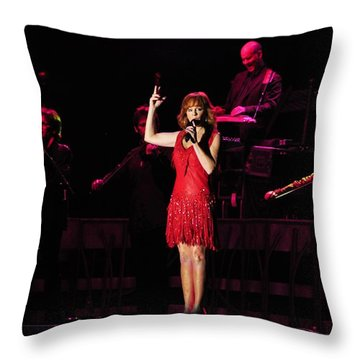 Fancy - Reba Mcentire Throw Pillow