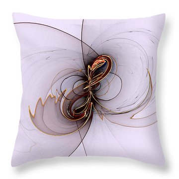 Fancy Flight Throw Pillow