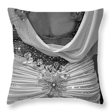 Throw Pillow featuring the photograph Fancy Pants by Lori Seaman