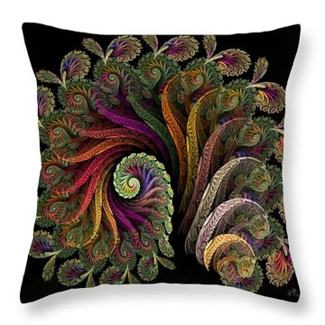 Fanfare Throw Pillow by Kim Redd
