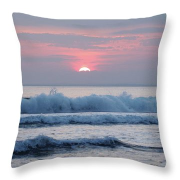 Fanore Sunset 1 Throw Pillow