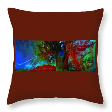 Fanou's Story Throw Pillow by Fania Simon