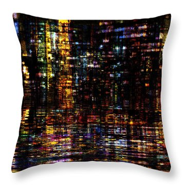 Fantastic Evening  Throw Pillow
